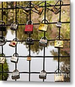 Love Locks Metal Print by Juan Romagosa