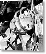 Love Locks Metal Print