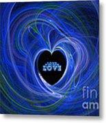 Love - Love - Love Metal Print