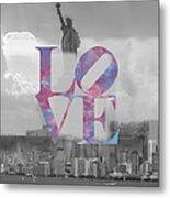 Love - New York City Metal Print