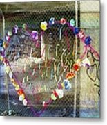 Love Note Under The Bridge Metal Print