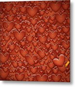 Love Patches Metal Print by Gianfranco Weiss