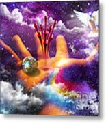 Love Poured Out Metal Print