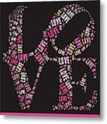 Love Quatro - S08a Metal Print by Variance Collections
