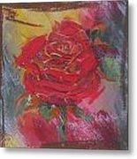 Love Red Metal Print