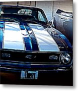 Love Some Muscle Metal Print