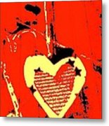 Love-star Metal Print by Dorothy Rafferty