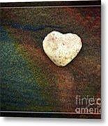 Love Stone - Framed Metal Print