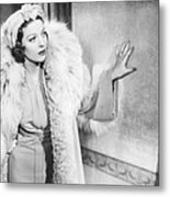 Love Under Fire, Loretta Young, 1937 Metal Print
