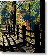 Lovely Day For Hike Metal Print