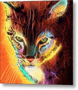 Lovely Lulu The Cat Metal Print