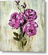 Lovely Roses Metal Print
