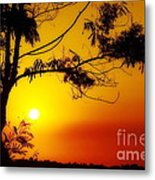 Lovely Sunset Metal Print by George Paris