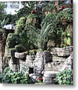 Lovely View Inside The Opryland Hotel In Nashville Tennessee 2009 Metal Print
