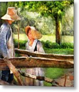 Lover - The Courtship Metal Print