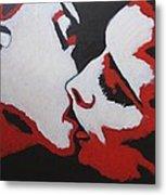 Lovers - Kiss 8 Metal Print