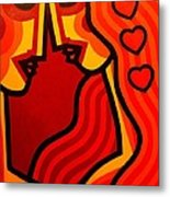 Lovers Vi Metal Print