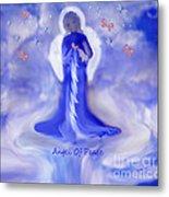 Loving Angel Of Peace Metal Print by Sherri's Of Palm Springs