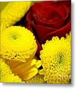 Loving Yellow Metal Print