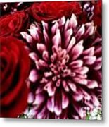 Lovr Flowers Metal Print
