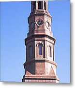 Low Angle View Of A Church, St. Philips Metal Print