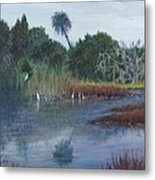 Low Country Social Metal Print