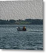 Low In The Water Metal Print