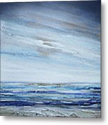 Low Newton Beach Rhythms And Textures 3 Metal Print by Mike   Bell
