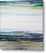 Low Newton Beach Rhythms And  Textures IIi Metal Print