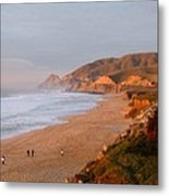 Low Sun On The Pacific Metal Print