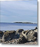 Low Tide Blues Metal Print