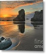 Low Tide Giants Metal Print by Adam Jewell