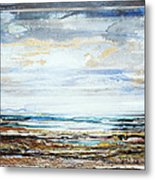 Low Tide Hauxley Haven No10 Metal Print