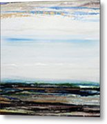 Low Tide Hauxley Haven1a Metal Print by Mike   Bell