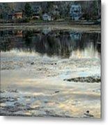Low Water At Lake Garfield Metal Print