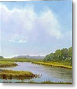 Lowcountry Afternoon Metal Print