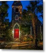 Lowcountry Church Metal Print
