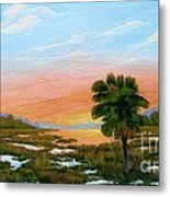 Lowcountry Sunrise Metal Print