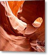 Lower Antelope Canyon Detail Metal Print