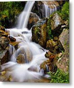 Lower Bridal Veil Falls 4 Metal Print