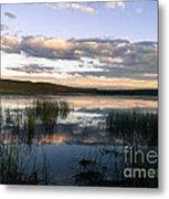 Lower Carter Pond At Dusk Metal Print