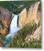 Lower Falls Yellowstone 2 Metal Print