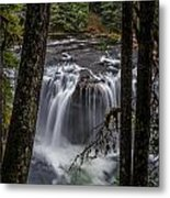 Lower Lewis Falls 3 Metal Print