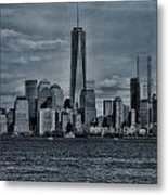 Lower Manhattan And The Freedom Tower Metal Print