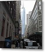 Lower Manhattan And The New World Trade Center Metal Print