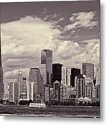 Lower Manhattan Skyline 2 Metal Print