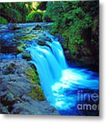 Lower Punchbowl Falls Metal Print