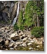Lower Yosemite Falls Metal Print