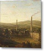 Lowerhouse Print Works, Burnley Metal Print
