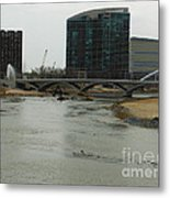 Lowhead Dam Removal Columbus Ohio Usa 14 Metal Print